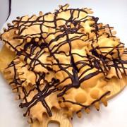 chiccchiere al cioccolato maccalli