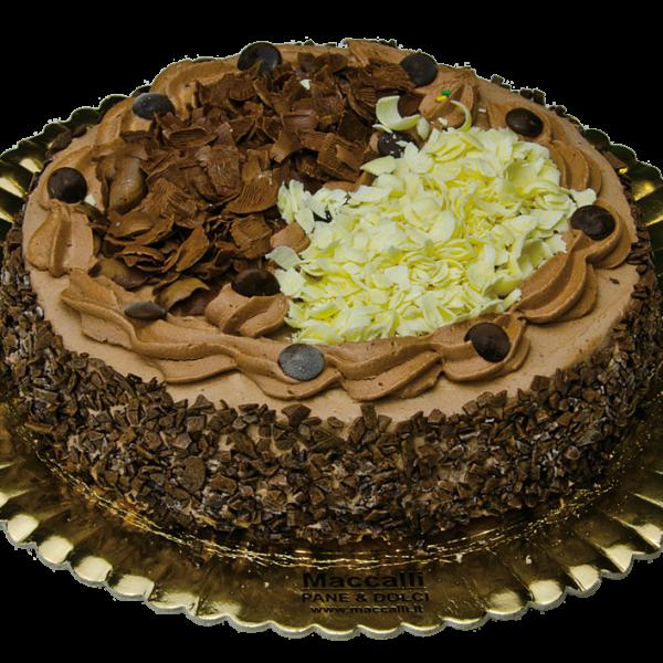 torta al cioccolato Maccalli