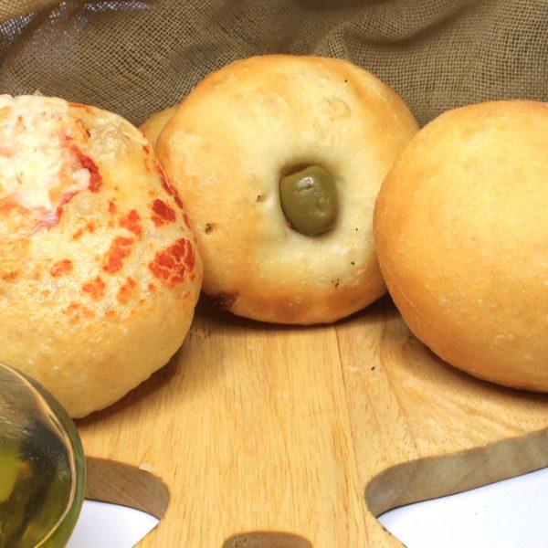 mini focacce e pizzette