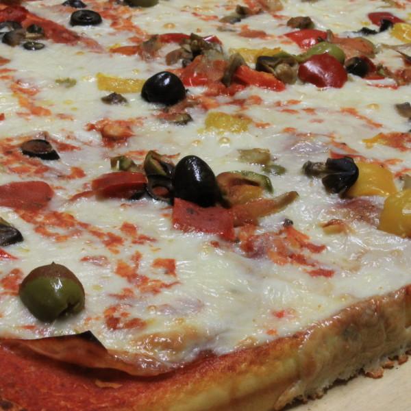 pizza farcita Maccalli.